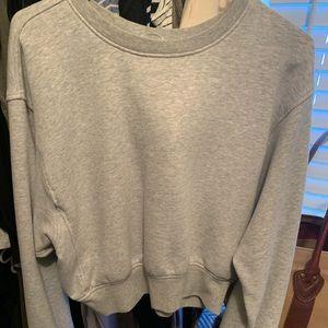 Victoria Secret crop sweatshirt
